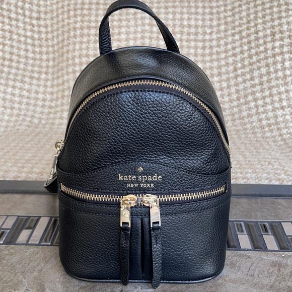 Kate Spade Karina Mini Convertible Leather Backpac